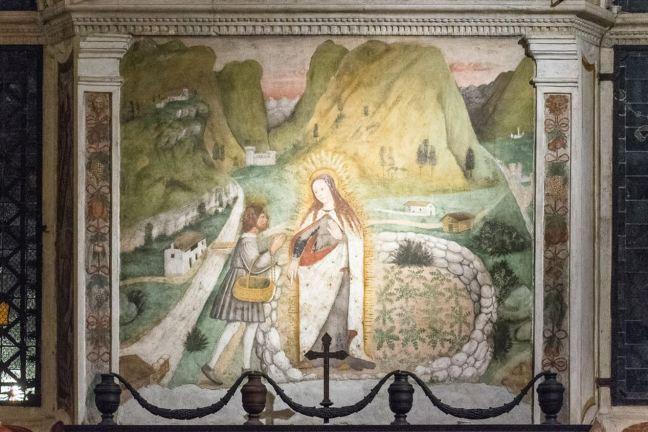 La Beata Vergine appare a Mario Omodei